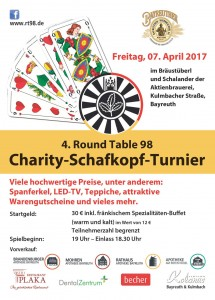 Round Table Schafkopf Turnier 2017